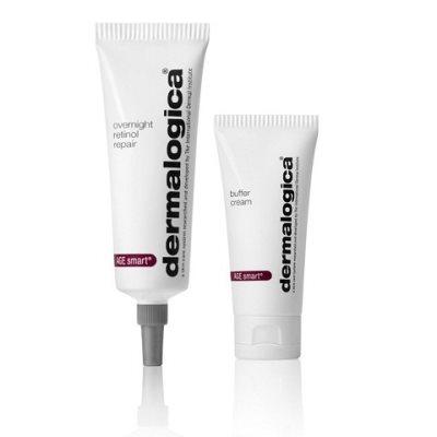 dermalogica overnight retinol repair & buffer cream 30ml & 15ml zen day spa