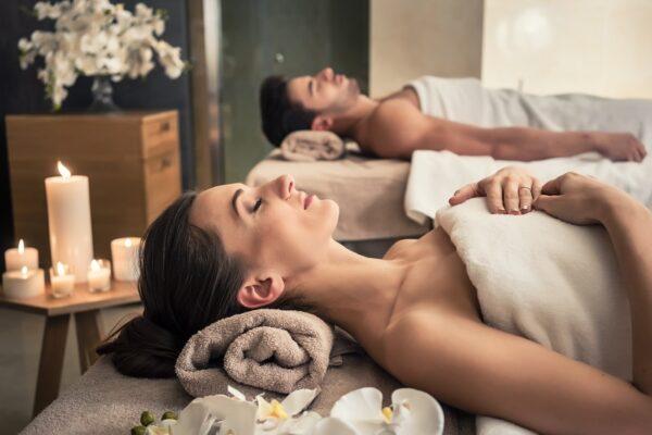 valentines couples massage