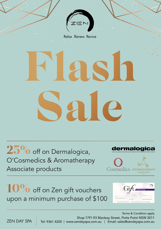 Flash Sale - Zen Day Spa Sydney